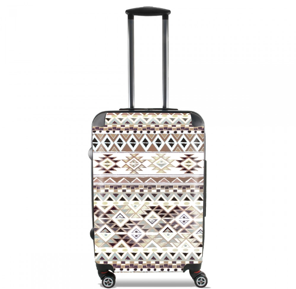 BROWN TRIBAL NATIVE for Lightweight Hand Luggage Bag - Cabin Baggage