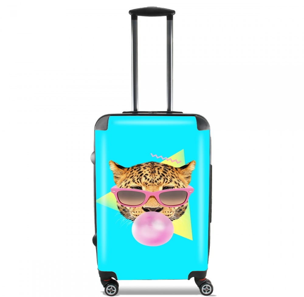 Bubble gum leo for Lightweight Hand Luggage Bag - Cabin Baggage