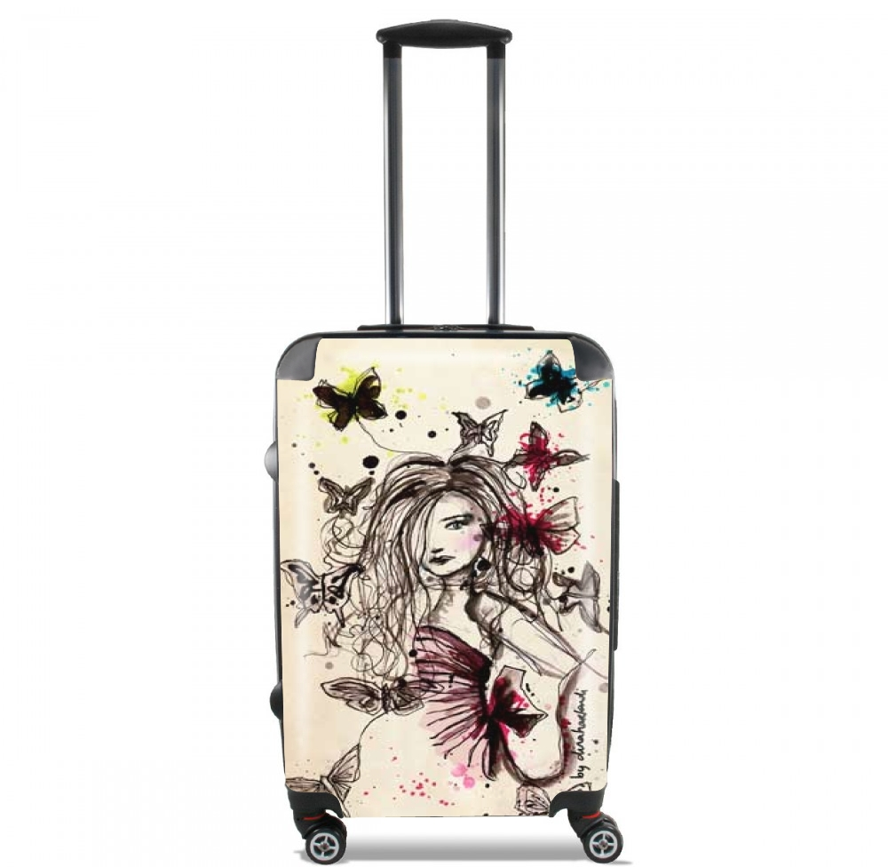 Butterflies for Lightweight Hand Luggage Bag - Cabin Baggage