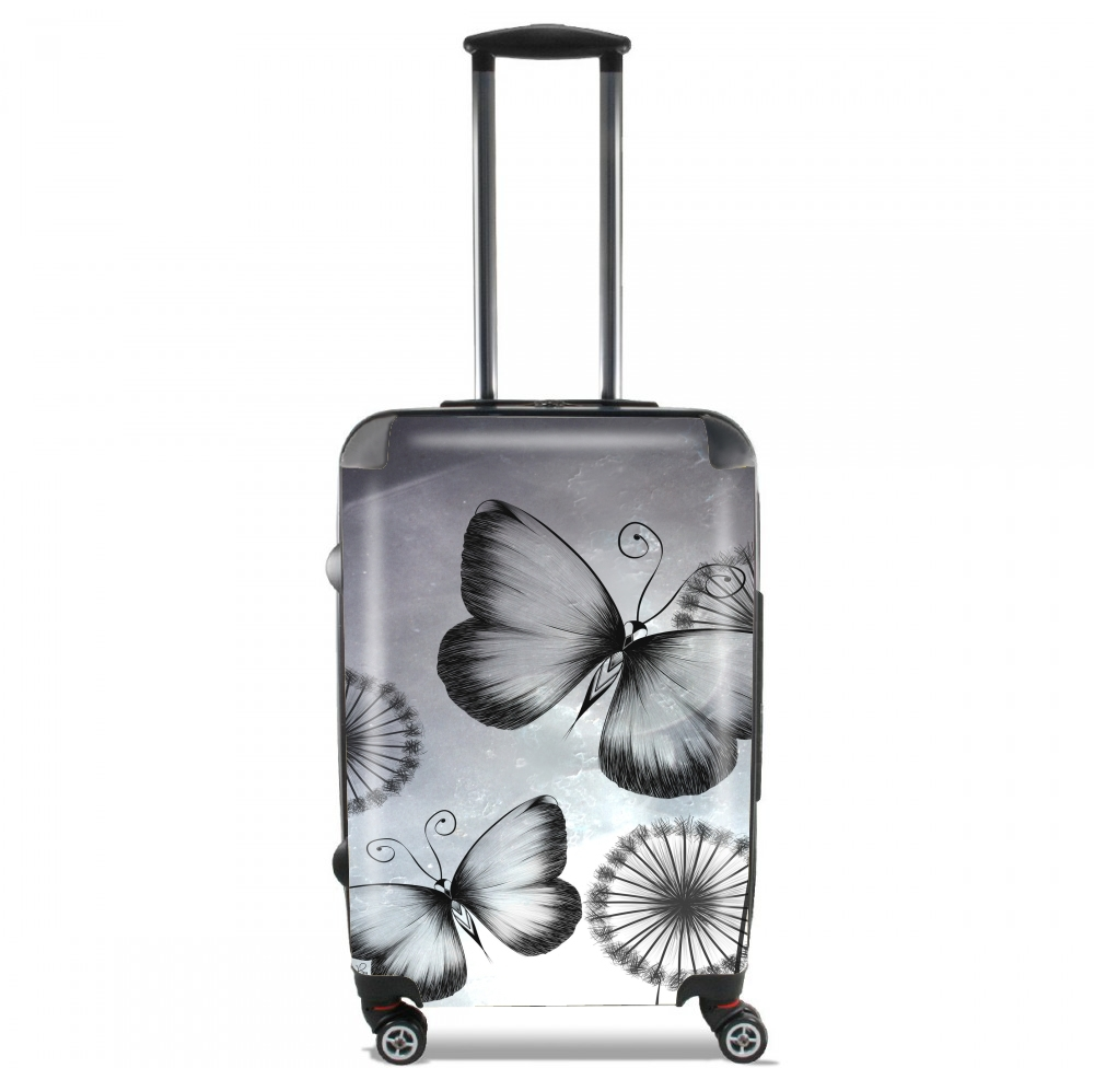 Butterflies Dandelion for Lightweight Hand Luggage Bag - Cabin Baggage