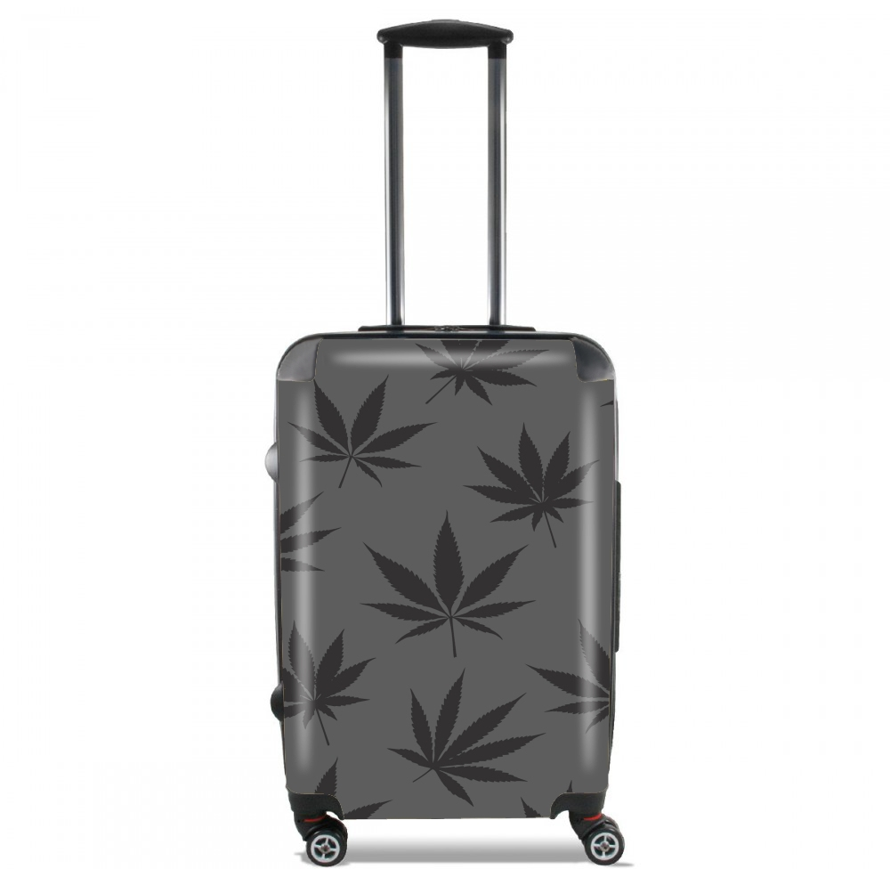 Cannabis Leaf Pattern for Lightweight Hand Luggage Bag - Cabin Baggage