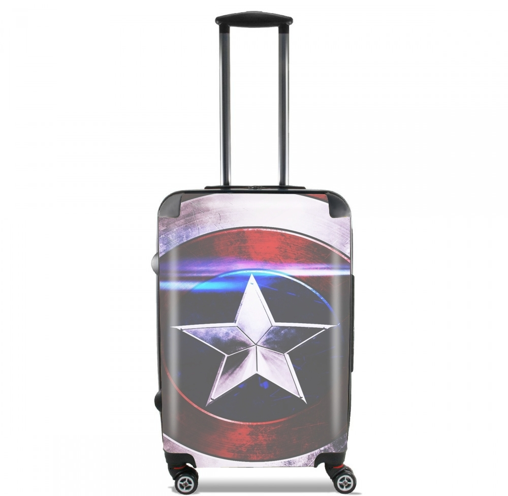 American Shield Blue for Lightweight Hand Luggage Bag - Cabin Baggage