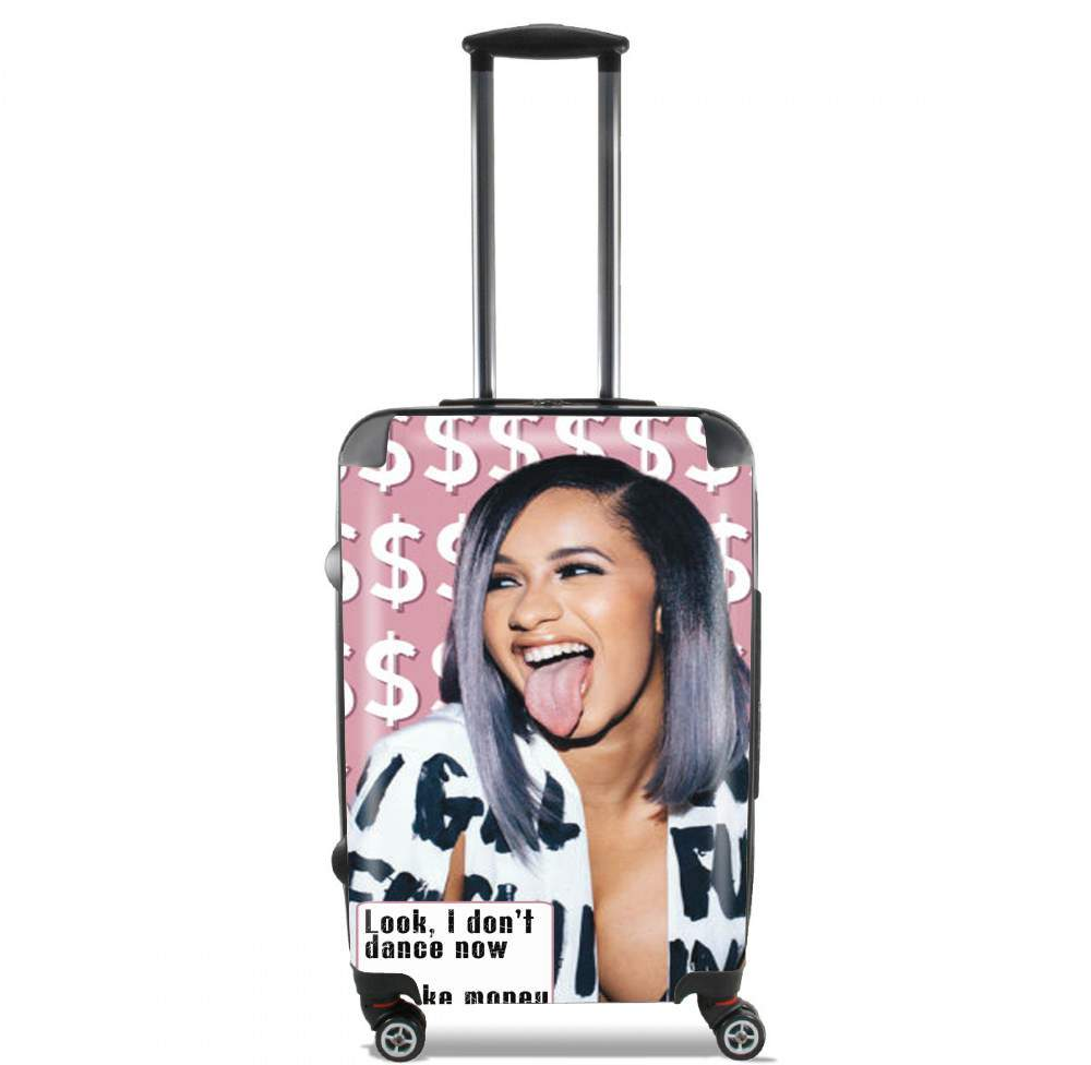 Cardie B Money Moves Music RAP for Lightweight Hand Luggage Bag - Cabin Baggage