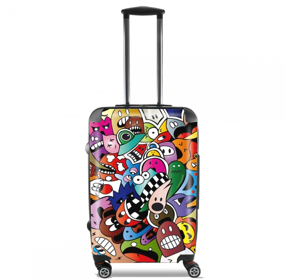 Cartoon for Lightweight Hand Luggage Bag - Cabin Baggage