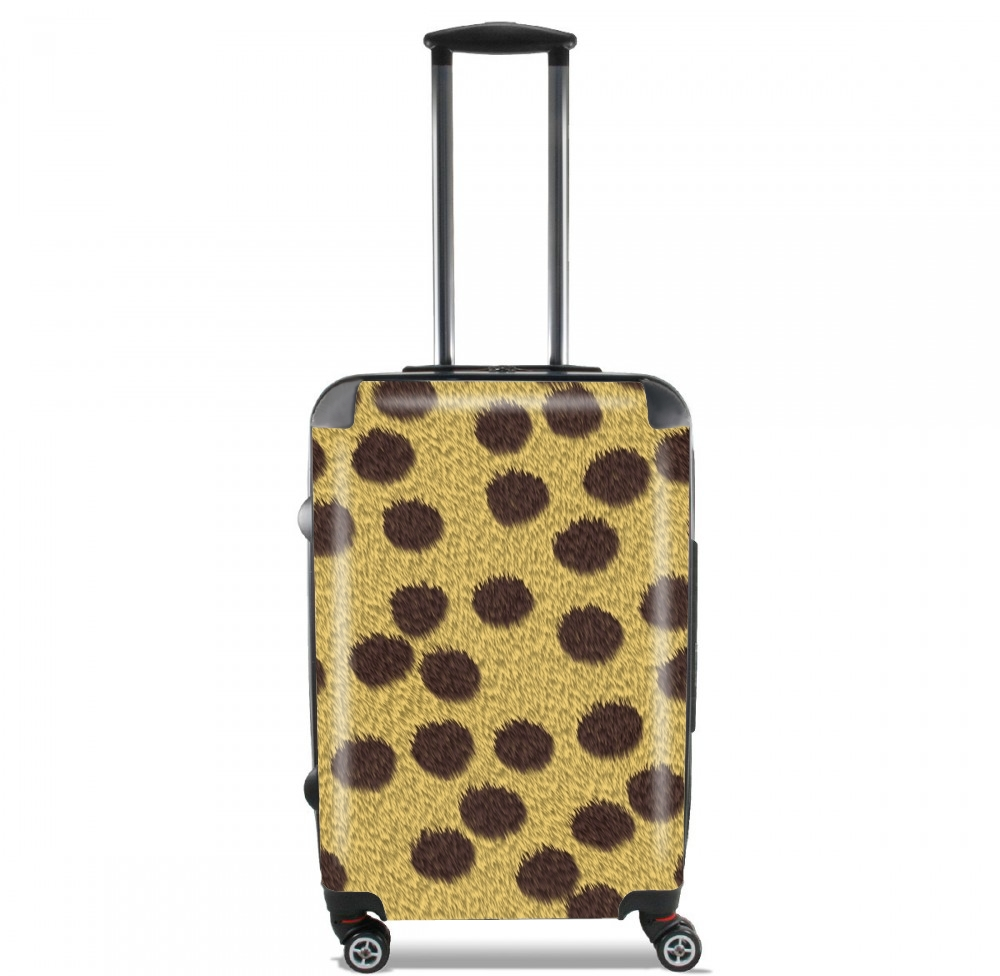 Cheetah Fur for Lightweight Hand Luggage Bag - Cabin Baggage