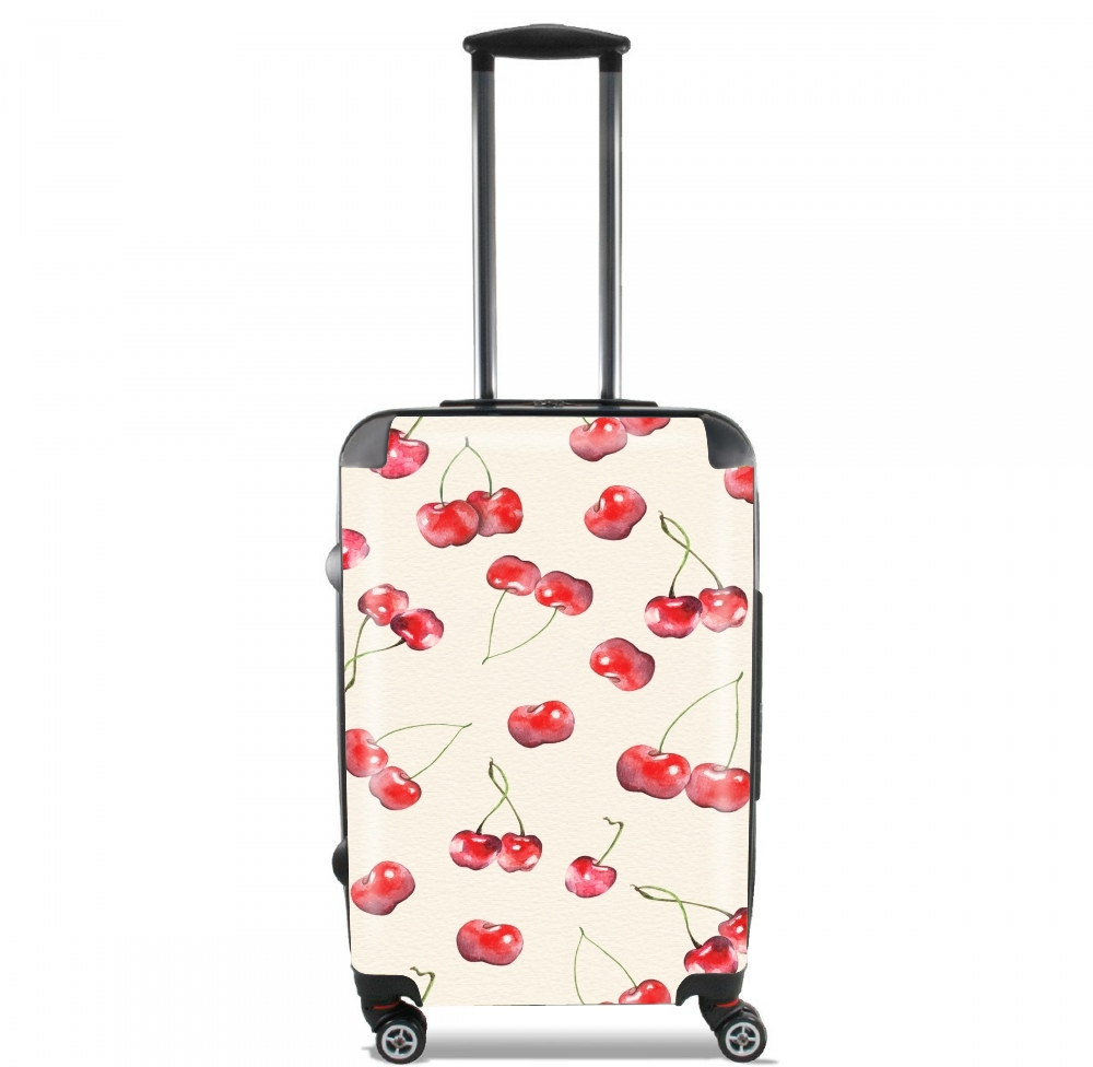Cherry Pattern for Lightweight Hand Luggage Bag - Cabin Baggage