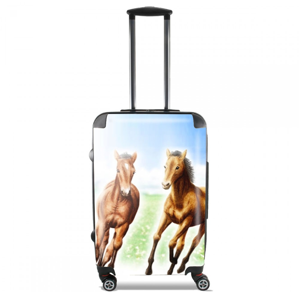 Horse And Mare for Lightweight Hand Luggage Bag - Cabin Baggage