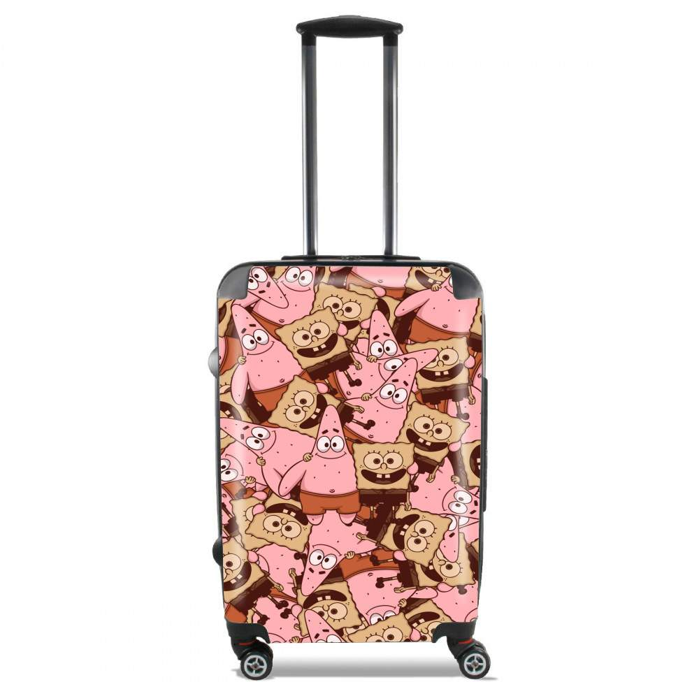 Chocolate Bob and Patrick for Lightweight Hand Luggage Bag - Cabin Baggage