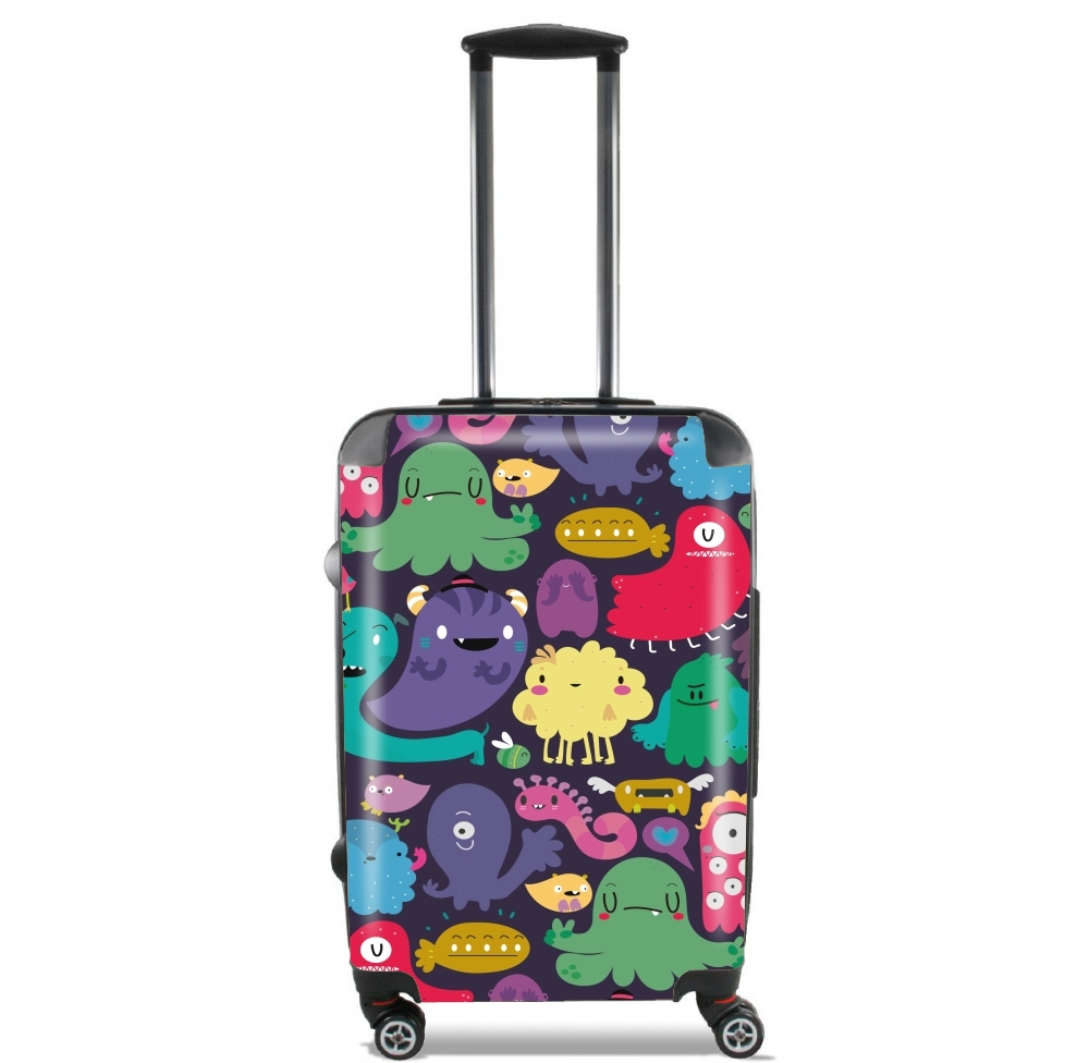 Colorful Creatures for Lightweight Hand Luggage Bag - Cabin Baggage