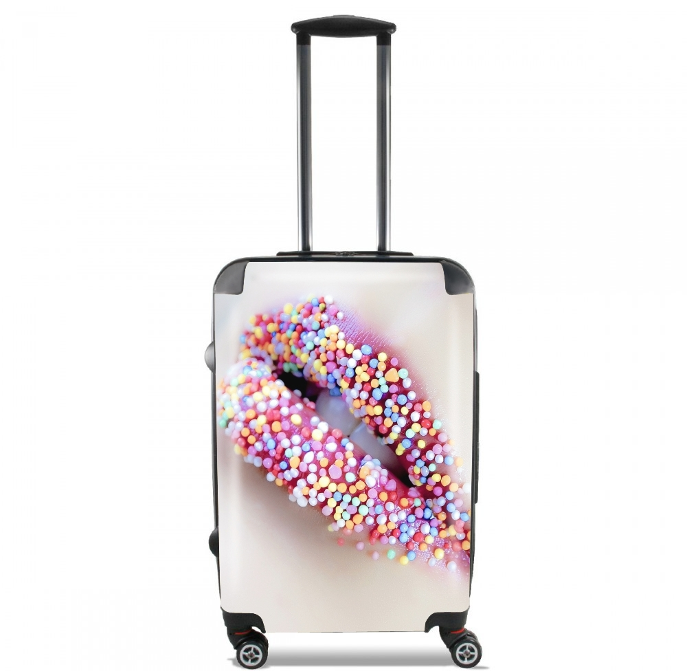 Colorful Lips for Lightweight Hand Luggage Bag - Cabin Baggage