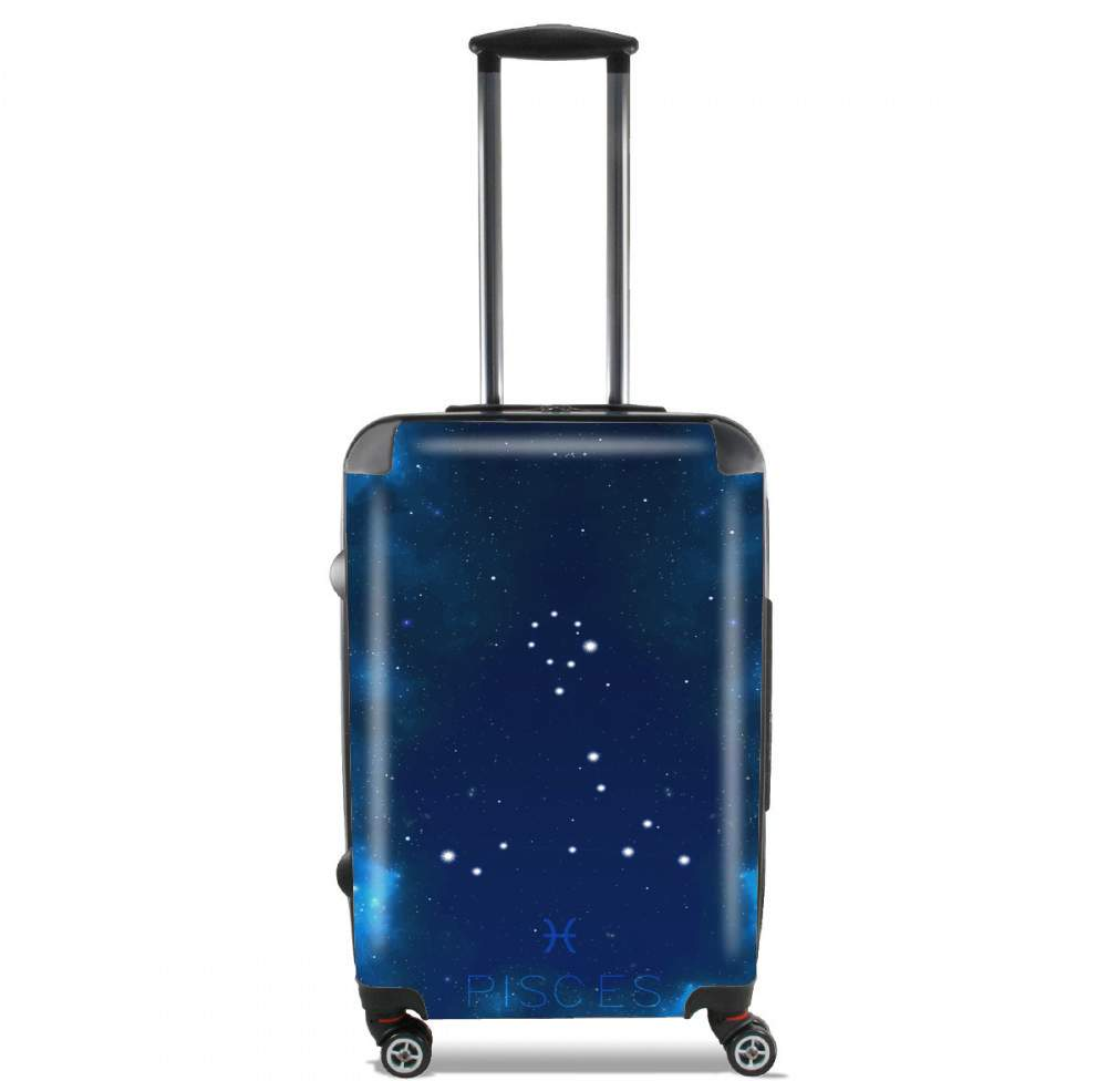 Constellations of the Zodiac: Pisces for Lightweight Hand Luggage Bag - Cabin Baggage