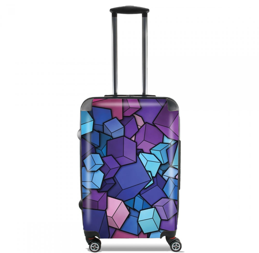 Blue Cube for Lightweight Hand Luggage Bag - Cabin Baggage
