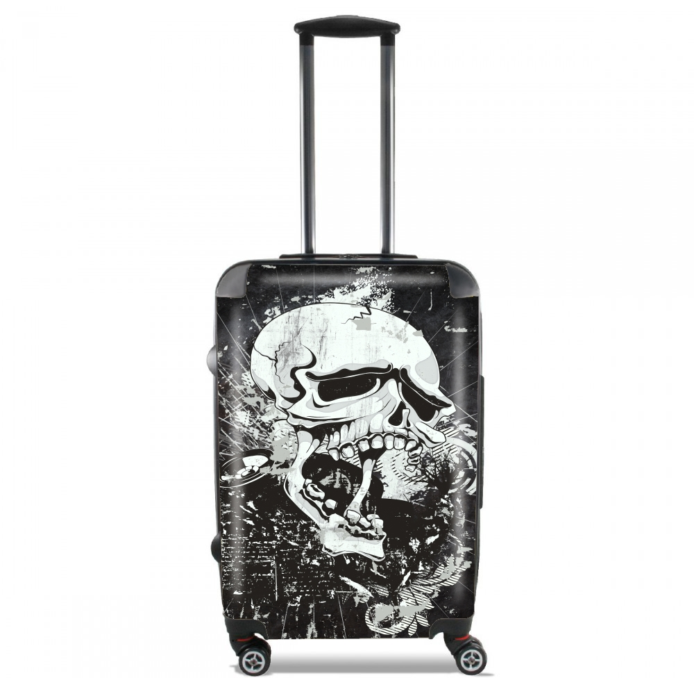Dark Gothic Skull for Lightweight Hand Luggage Bag - Cabin Baggage