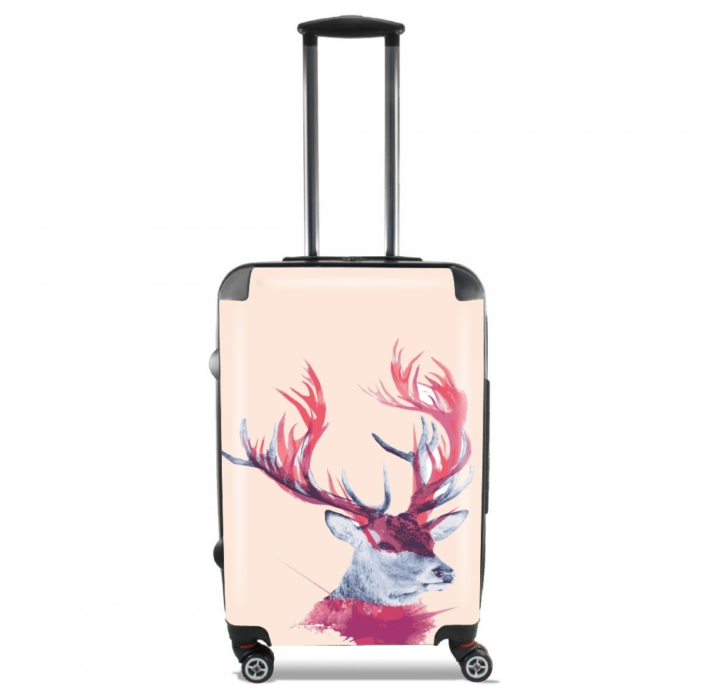 Deer paint for Lightweight Hand Luggage Bag - Cabin Baggage