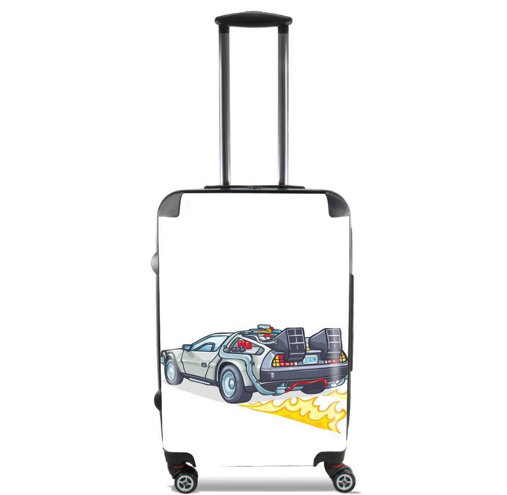 Delorean retour vers le futur for Lightweight Hand Luggage Bag - Cabin Baggage
