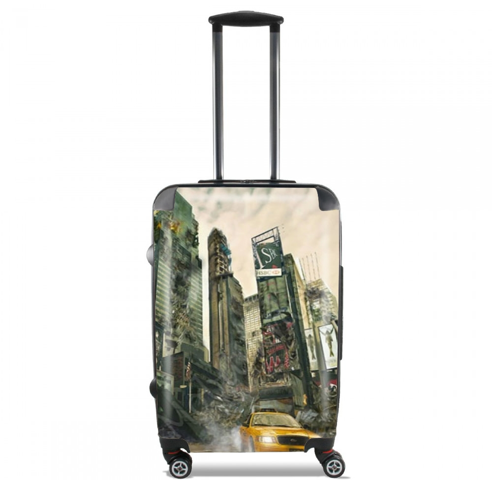 New York apocalyptic for Lightweight Hand Luggage Bag - Cabin Baggage