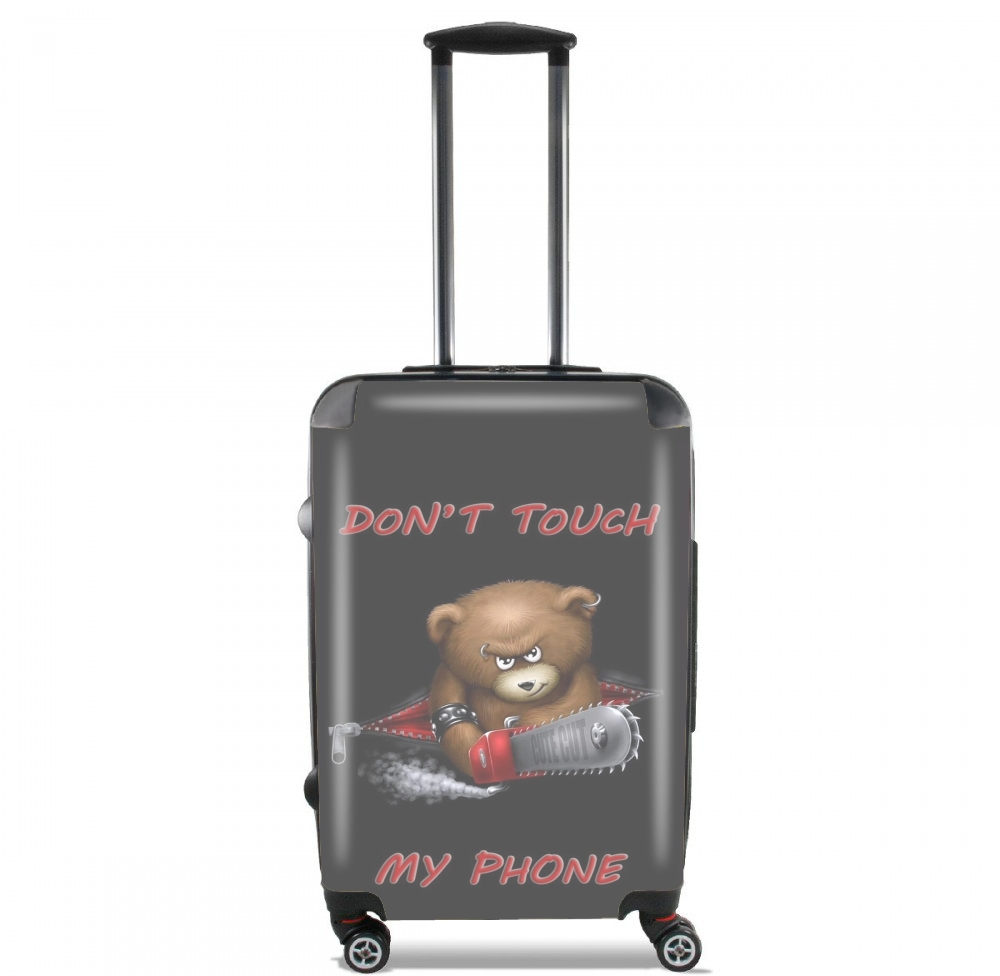 Don't touch my phone for Lightweight Hand Luggage Bag - Cabin Baggage