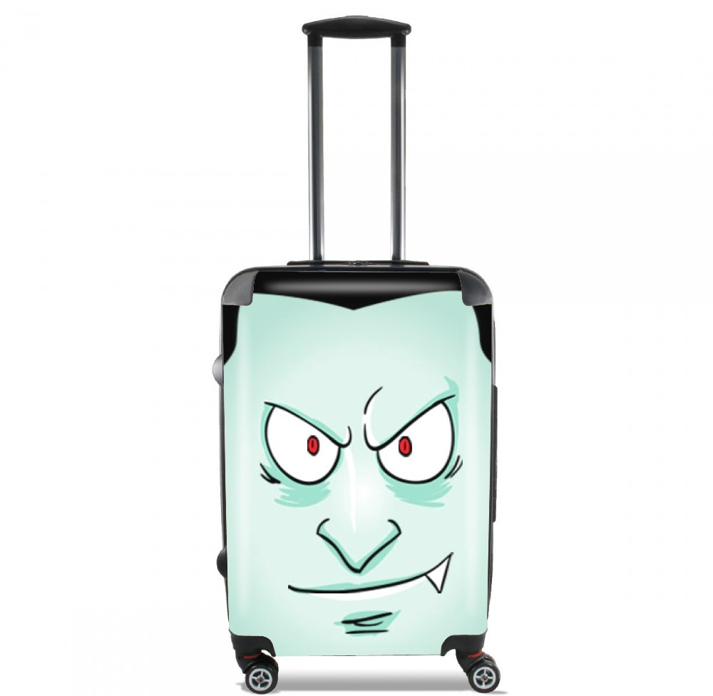 Dracula Face for Lightweight Hand Luggage Bag - Cabin Baggage