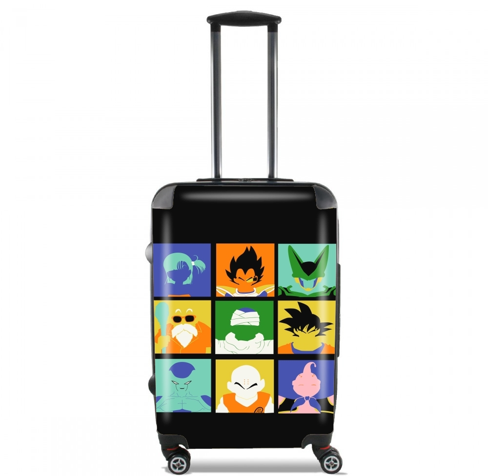Dragon pop for Lightweight Hand Luggage Bag - Cabin Baggage