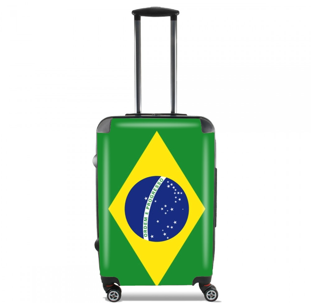 Flag Brasil for Lightweight Hand Luggage Bag - Cabin Baggage