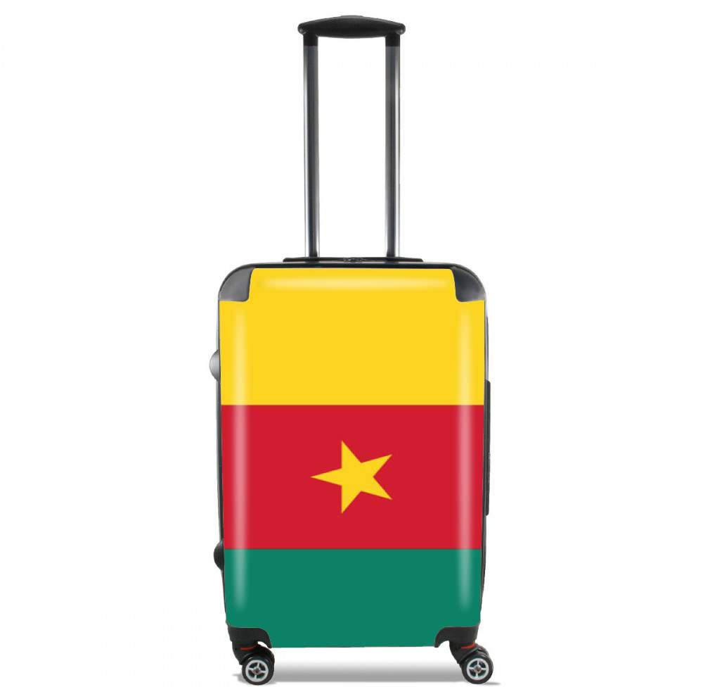 Flag of Cameroon for Lightweight Hand Luggage Bag - Cabin Baggage