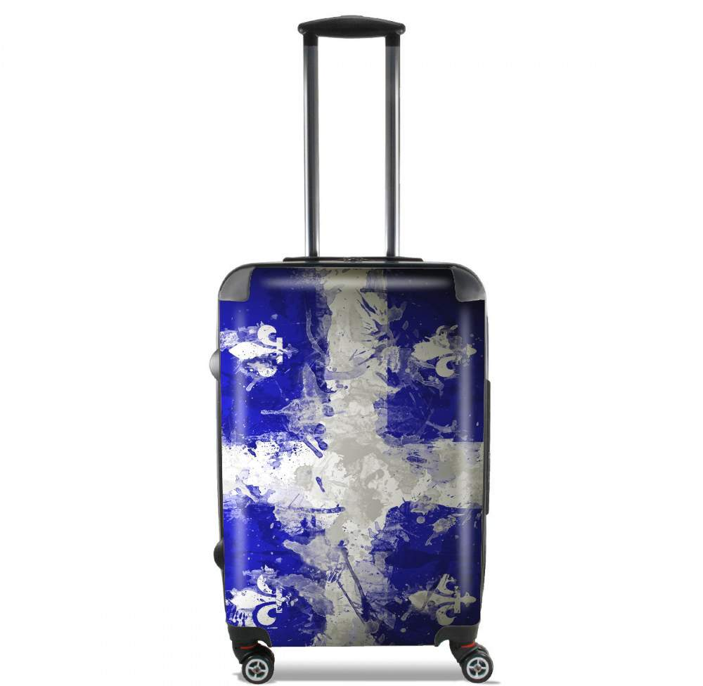 Drapeau Quebec Peinture for Lightweight Hand Luggage Bag - Cabin Baggage