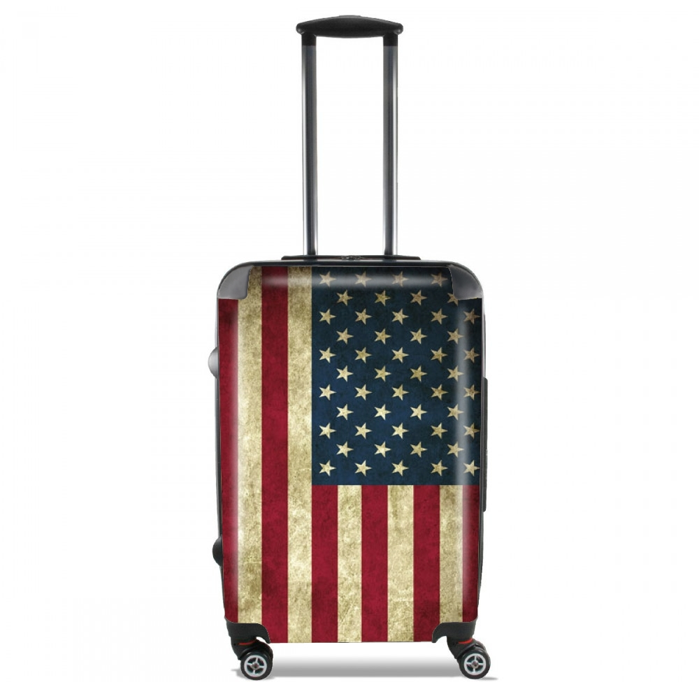 Flag USA Vintage for Lightweight Hand Luggage Bag - Cabin Baggage