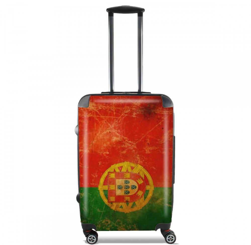 Vintage Flag Portugal for Lightweight Hand Luggage Bag - Cabin Baggage
