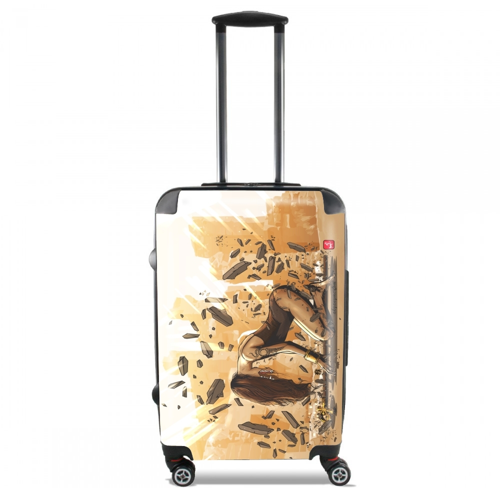 Egyptian Goddess Anubis for Lightweight Hand Luggage Bag - Cabin Baggage