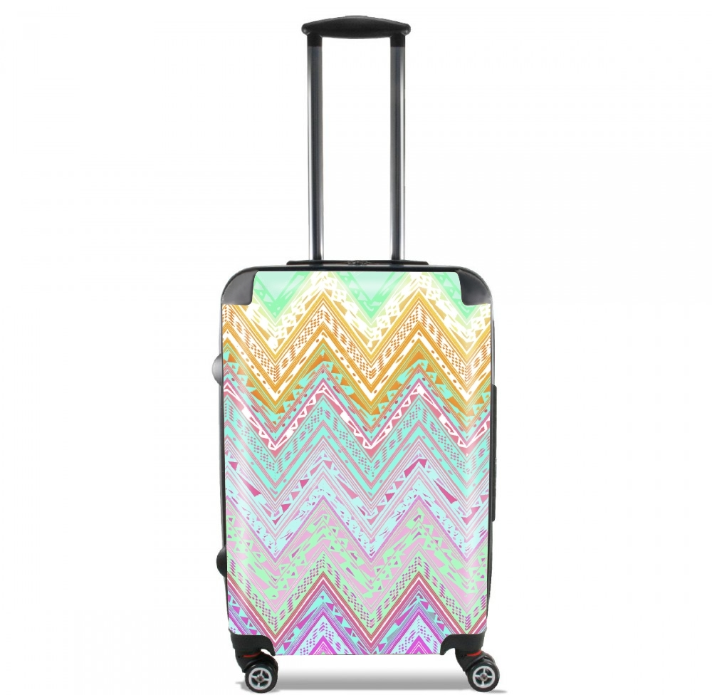 ETHNIC CHEVRON for Lightweight Hand Luggage Bag - Cabin Baggage