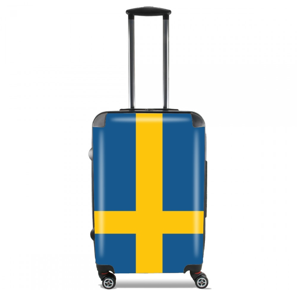 Flag Sweden for Lightweight Hand Luggage Bag - Cabin Baggage
