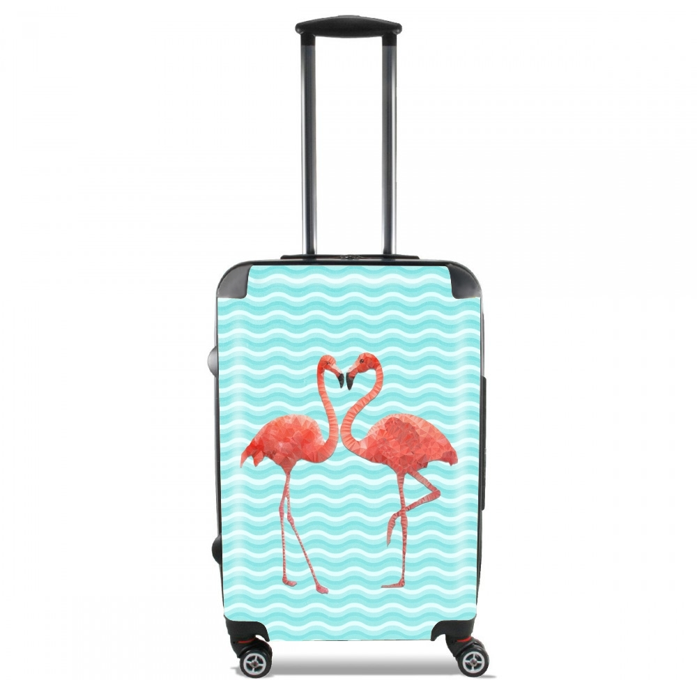 flamingo love for Lightweight Hand Luggage Bag - Cabin Baggage