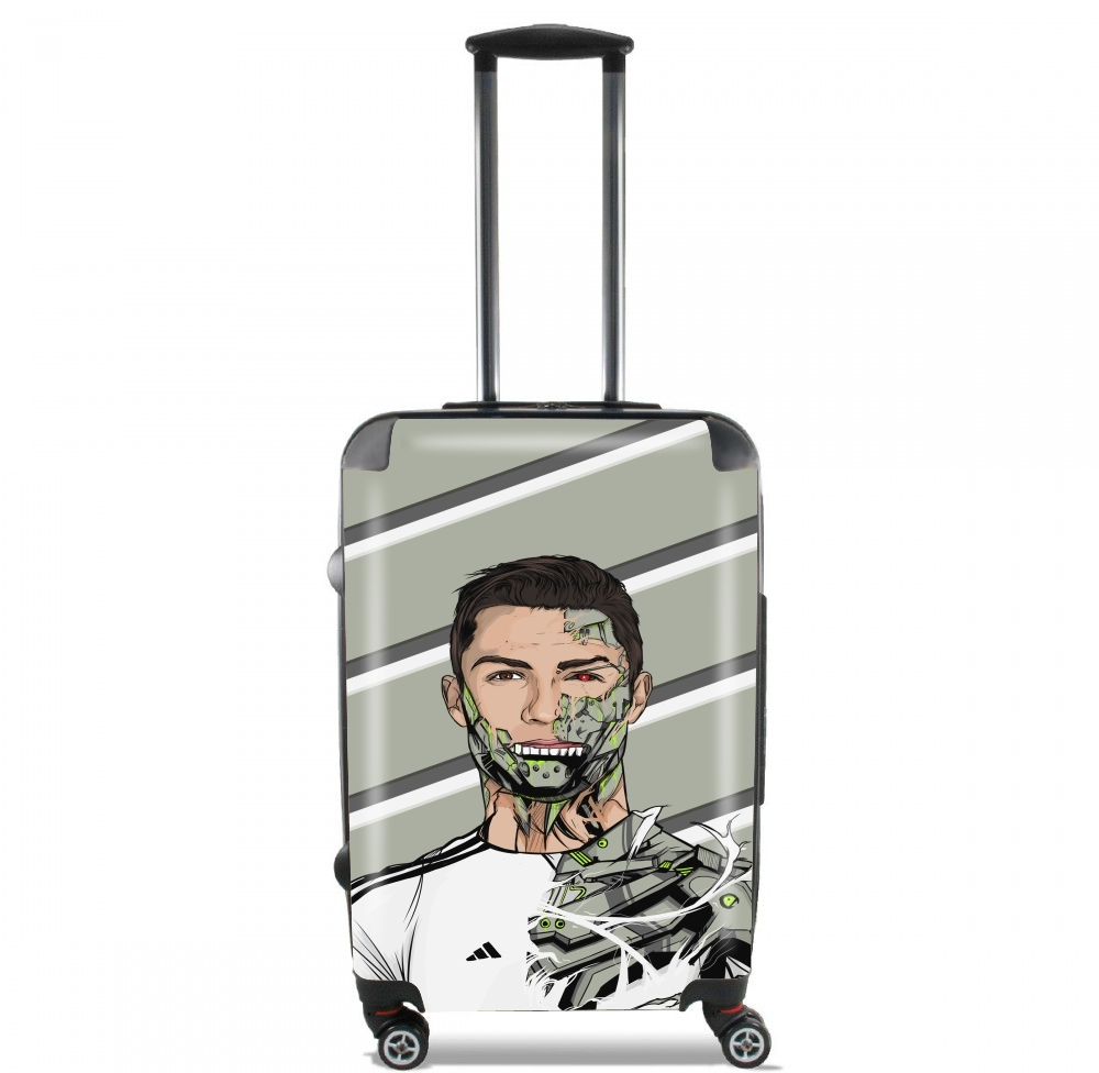 Football Legends: Cristiano Ronaldo - Real Madrid Robot for Lightweight Hand Luggage Bag - Cabin Baggage