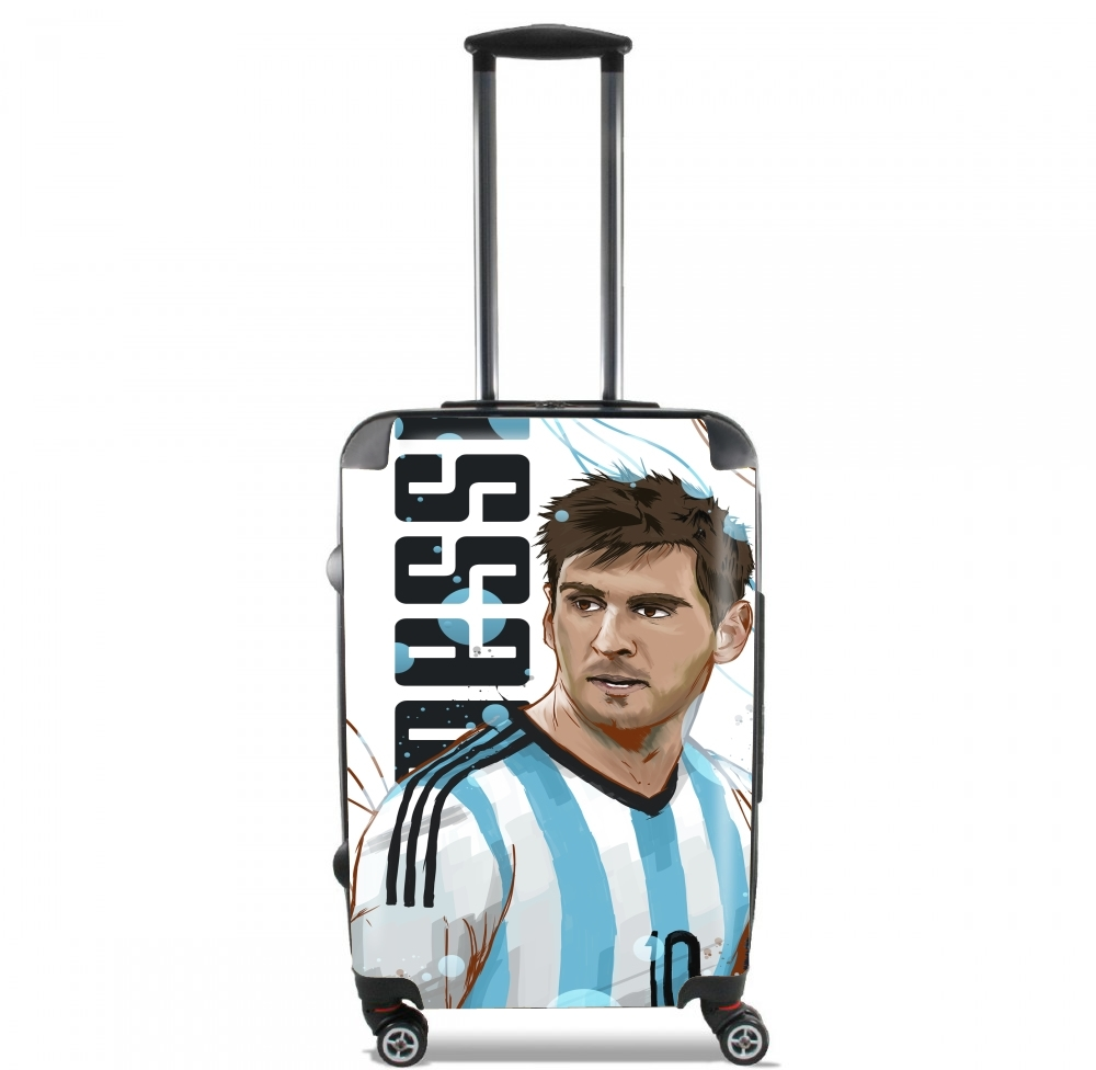 Football Legends: Lionel Messi World Cup 2014 for Lightweight Hand Luggage Bag - Cabin Baggage