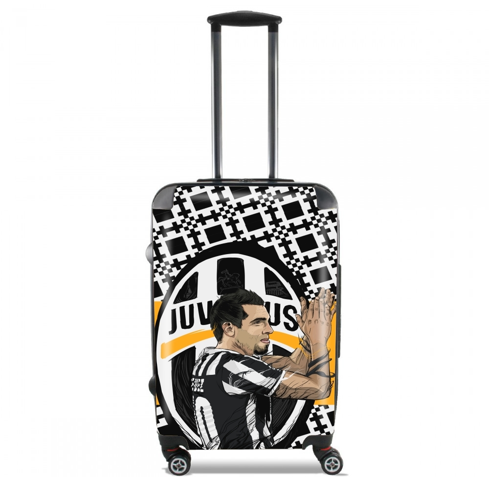 Football Stars: Carlos Tevez - Juventus for Lightweight Hand Luggage Bag - Cabin Baggage