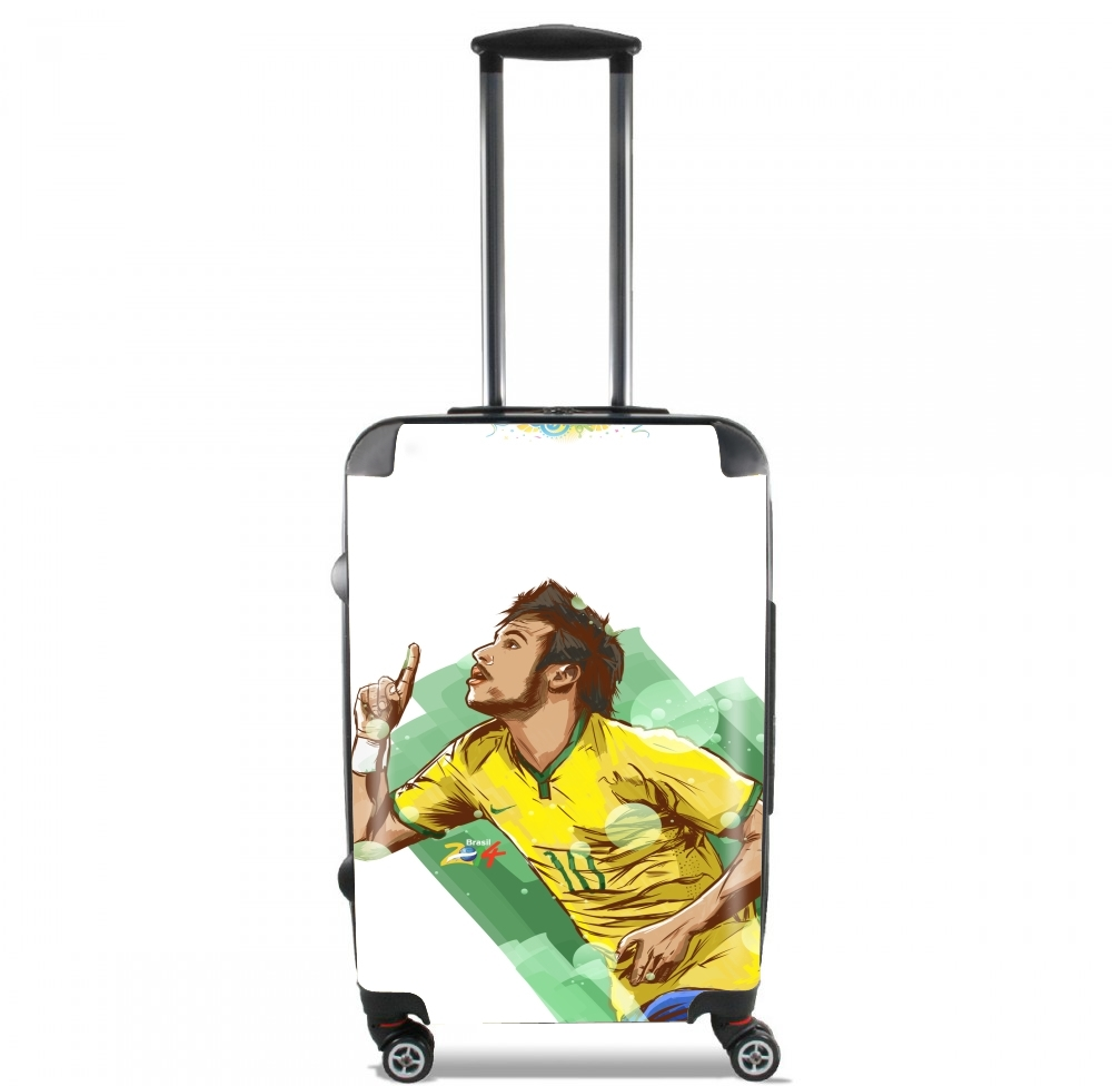 Football Stars: Neymar Jr - Brasil for Lightweight Hand Luggage Bag - Cabin Baggage