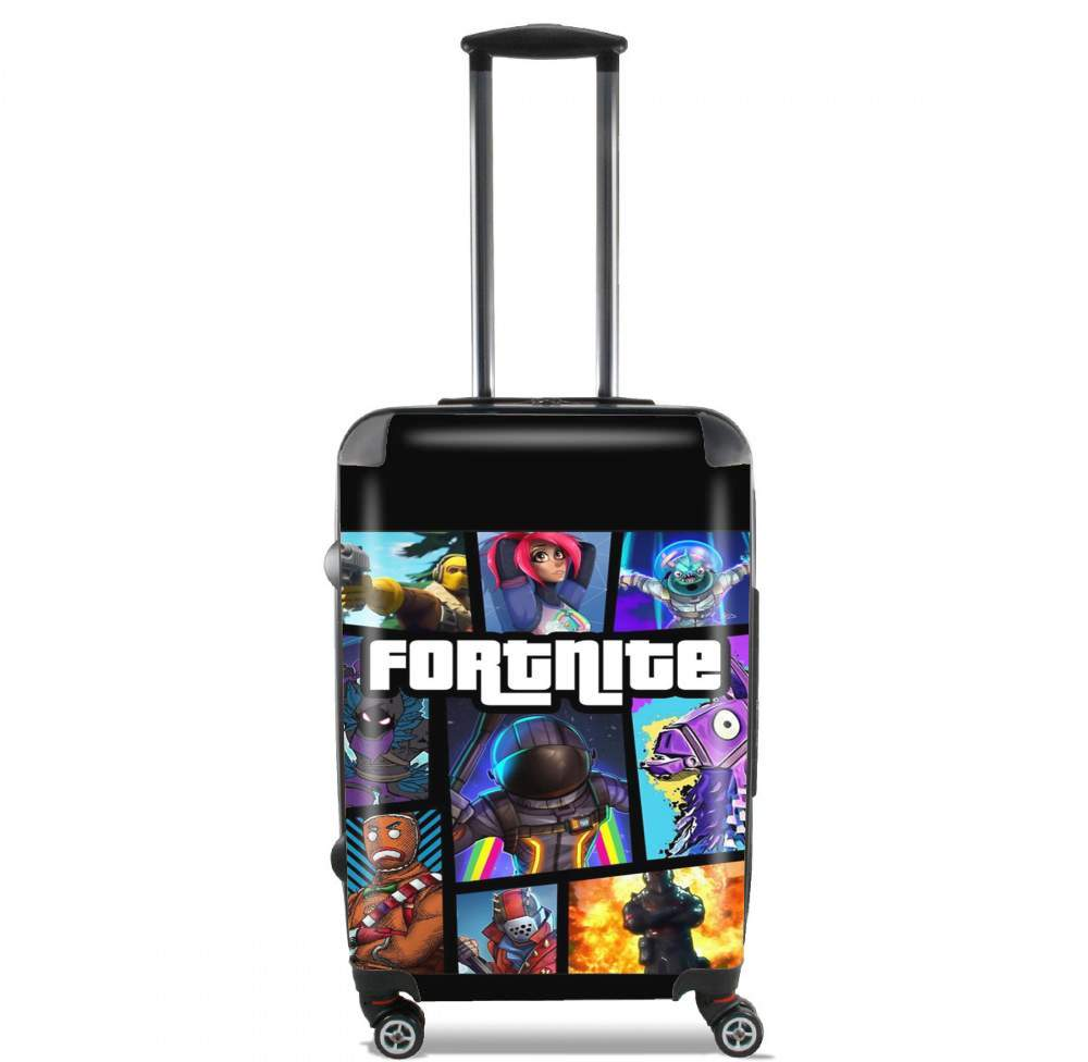 Fortnite - Battle Royale Art Feat GTA for Lightweight Hand Luggage Bag - Cabin Baggage