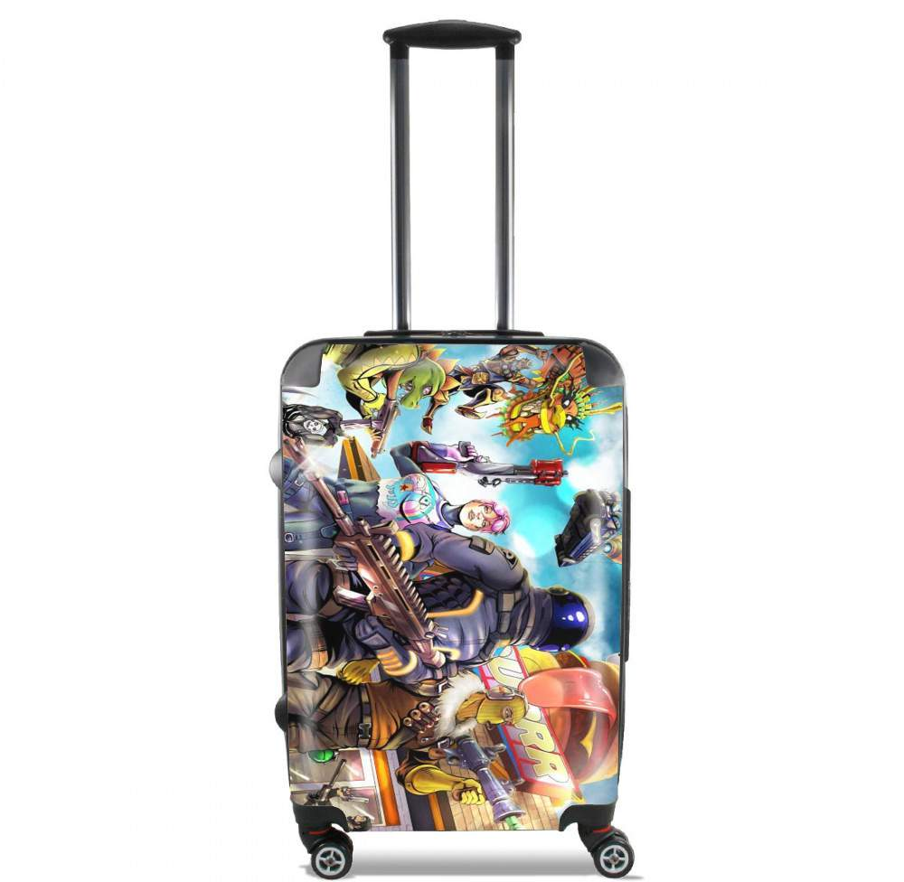 Fortnite Characters with Guns for Lightweight Hand Luggage Bag - Cabin Baggage