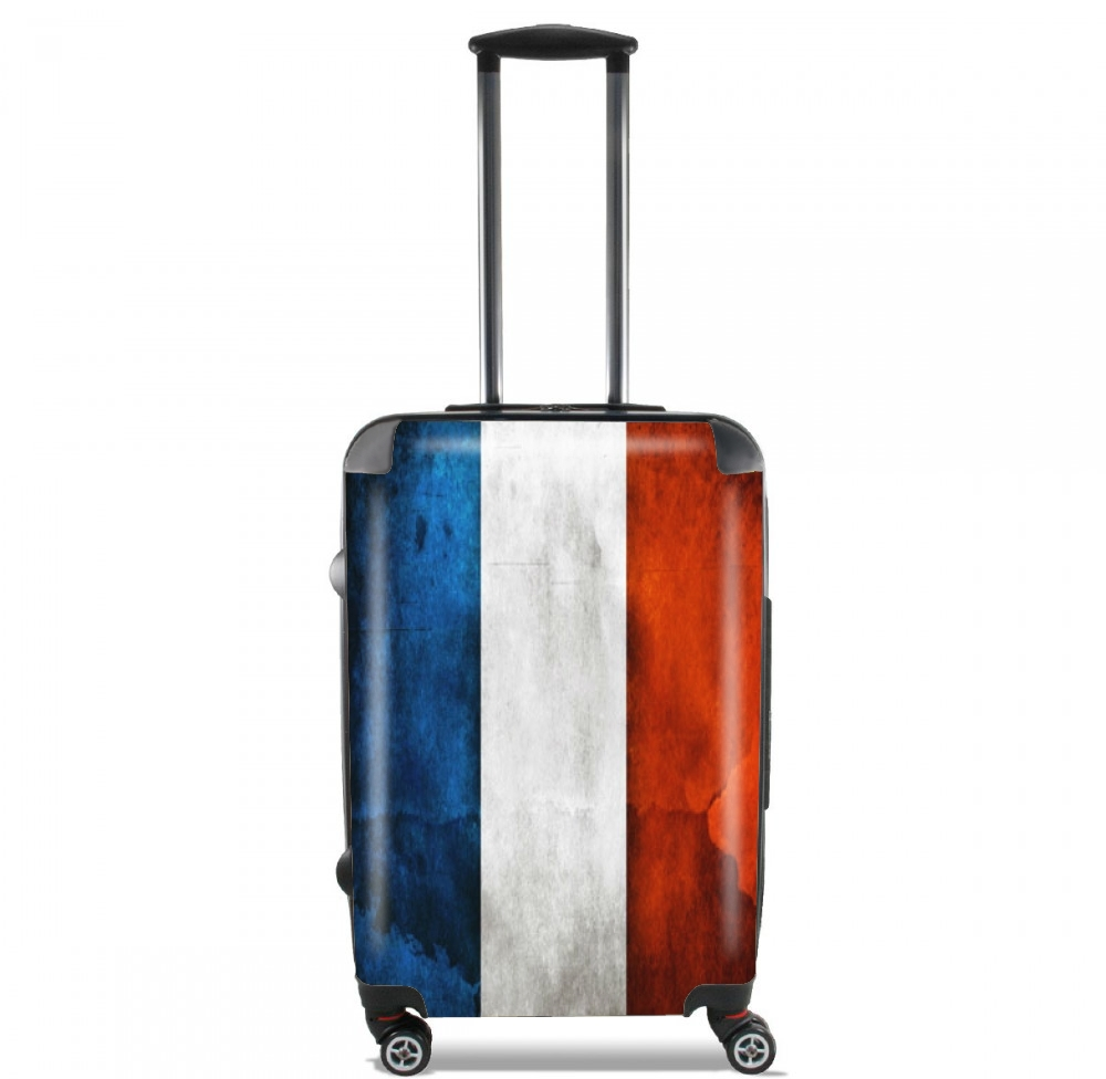 Flag France Vintage for Lightweight Hand Luggage Bag - Cabin Baggage