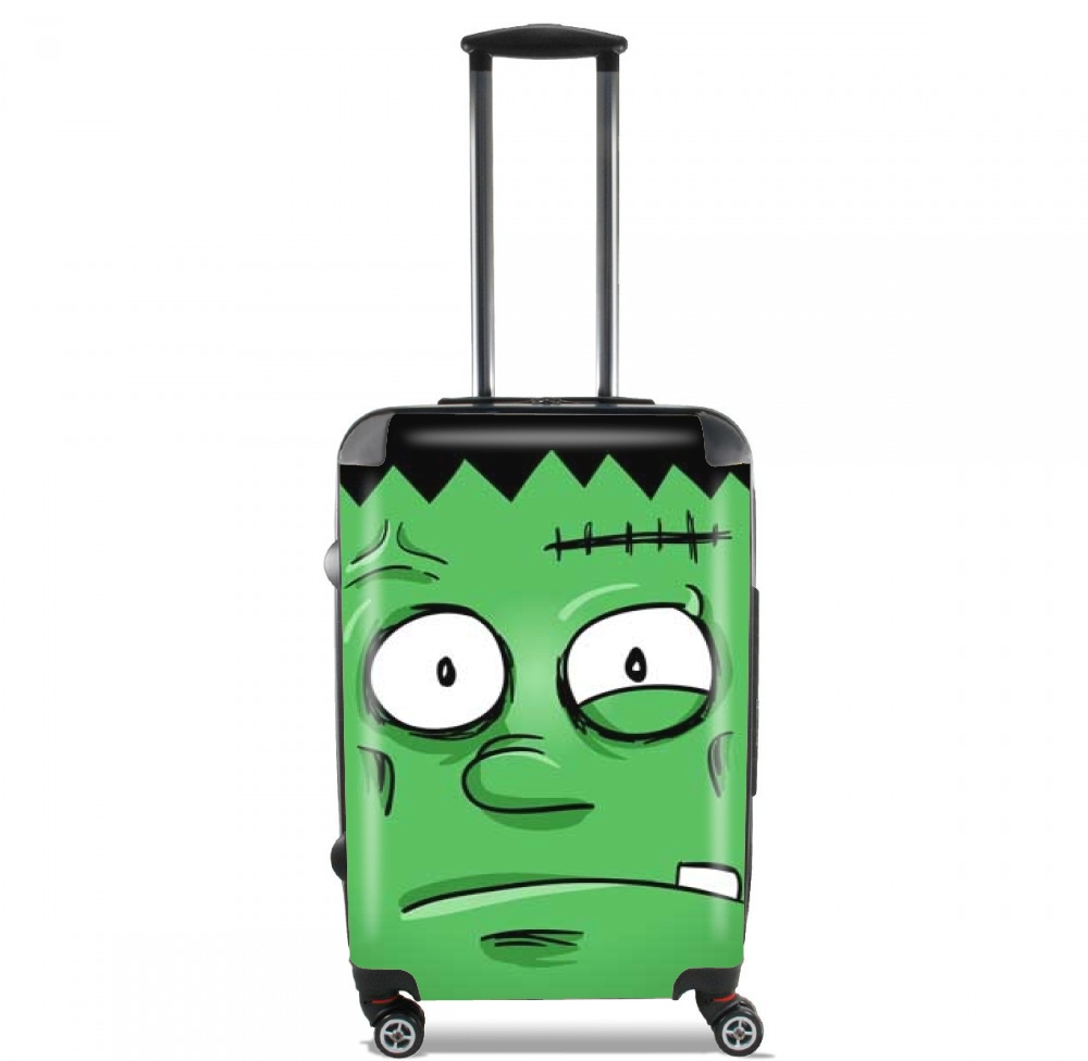Frankenstein Face for Lightweight Hand Luggage Bag - Cabin Baggage