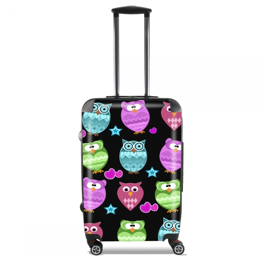funky owls for Lightweight Hand Luggage Bag - Cabin Baggage