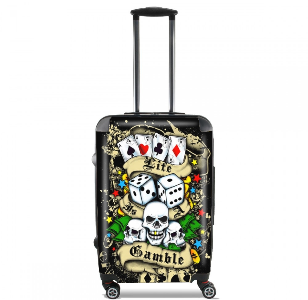 Love Gamble And Poker for Lightweight Hand Luggage Bag - Cabin Baggage