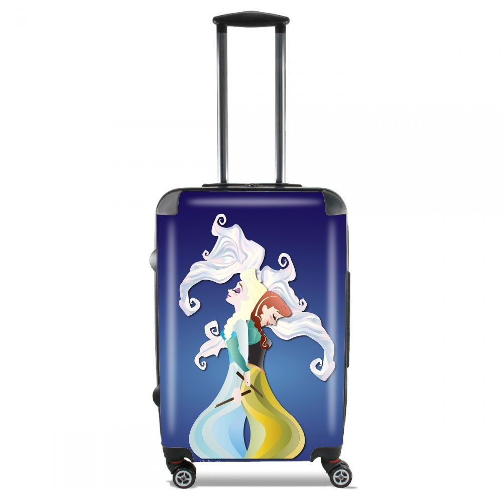 Gemini - Elsa & Anna for Lightweight Hand Luggage Bag - Cabin Baggage