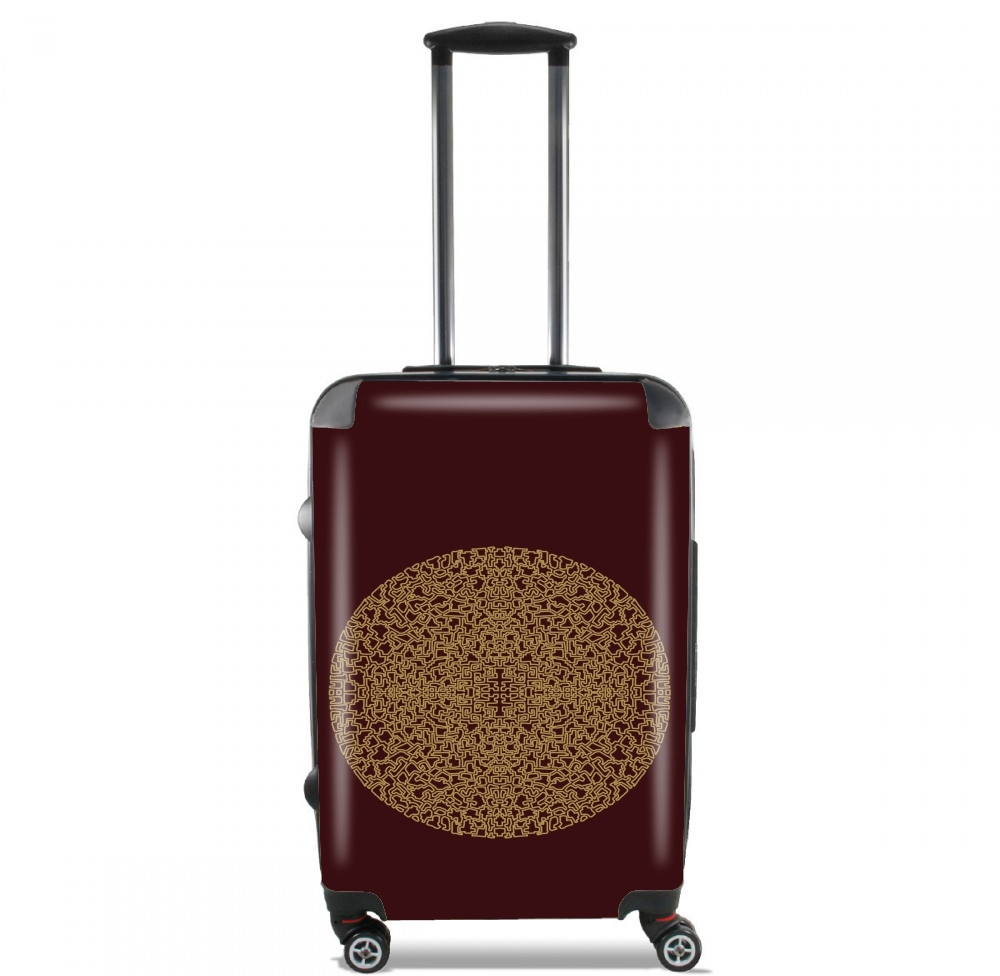 Mandala (Boho Moroccan) for Lightweight Hand Luggage Bag - Cabin Baggage