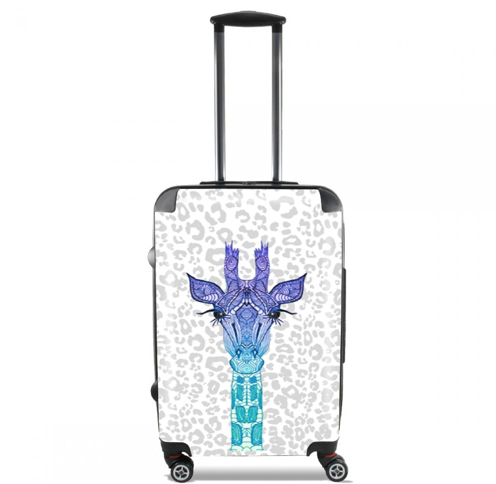 Giraffe Purple for Lightweight Hand Luggage Bag - Cabin Baggage