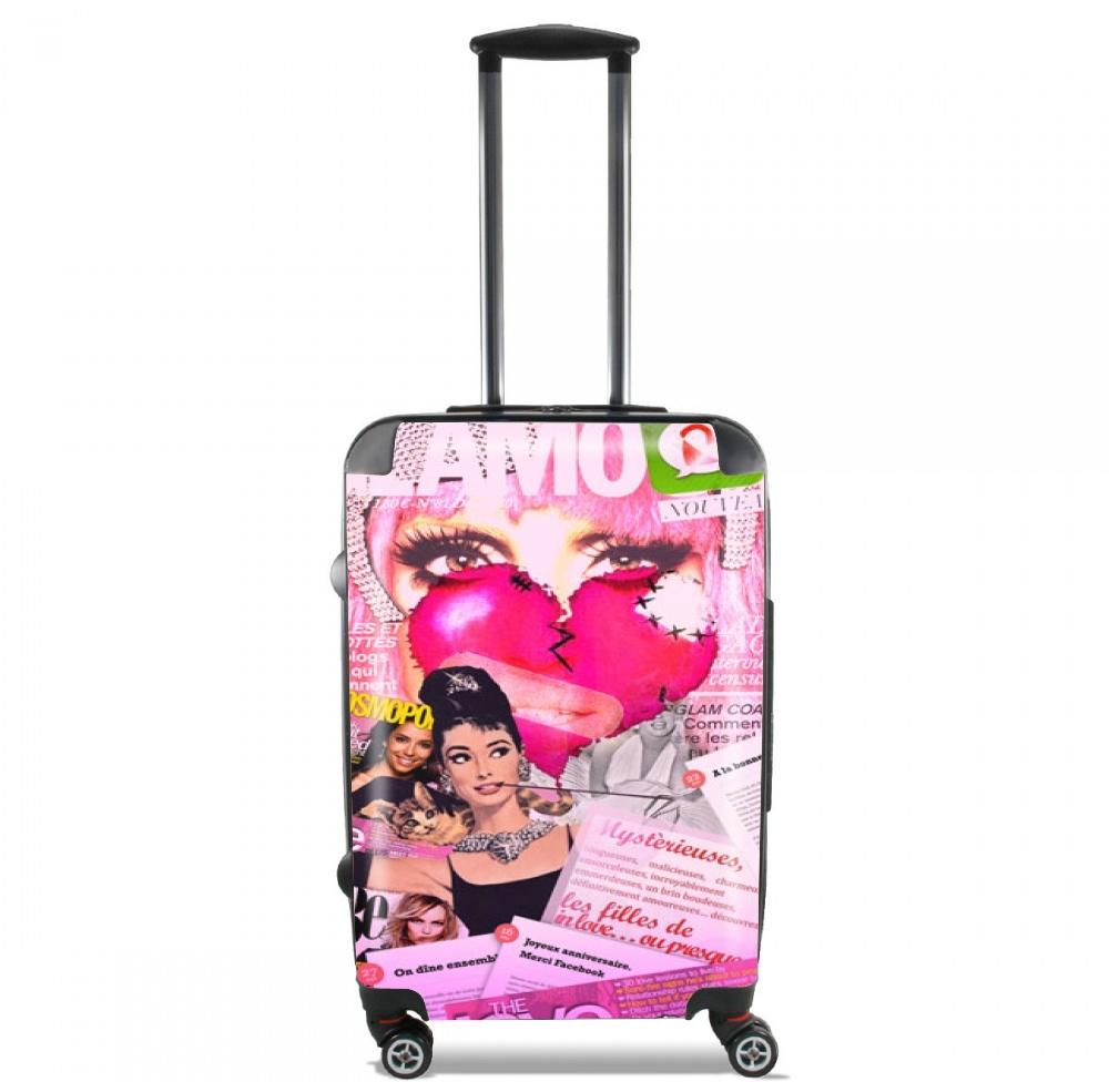 Glamour So Gaga Pink for Lightweight Hand Luggage Bag - Cabin Baggage