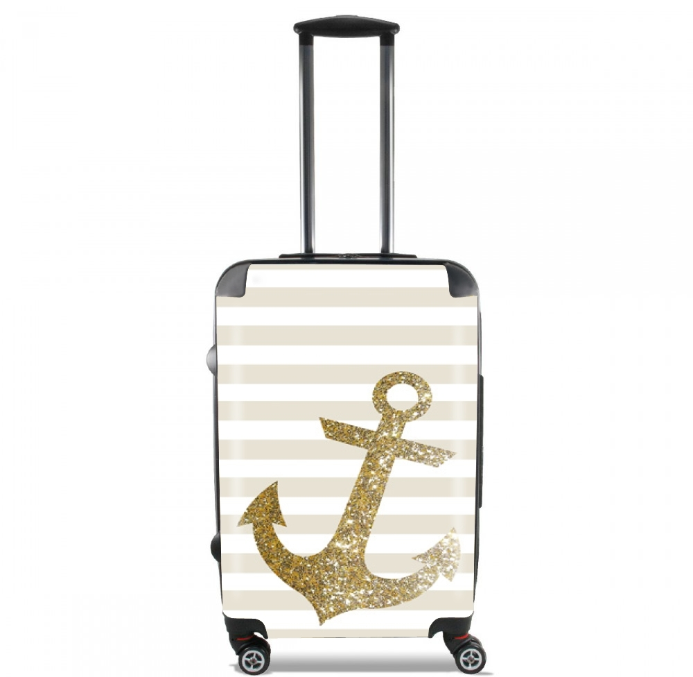 Gold Mariniere for Lightweight Hand Luggage Bag - Cabin Baggage
