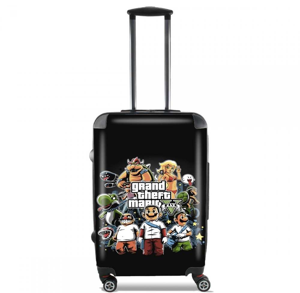 Grand Theft Mario for Lightweight Hand Luggage Bag - Cabin Baggage
