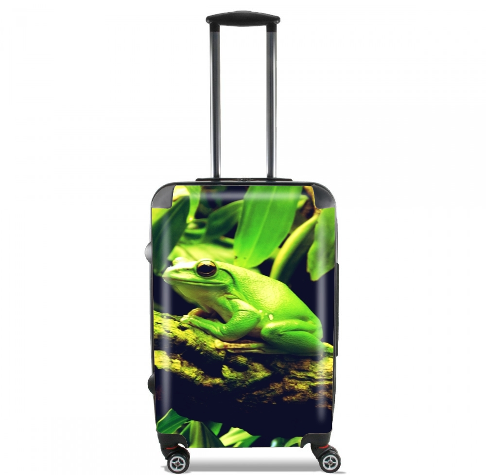 Green Frog for Lightweight Hand Luggage Bag - Cabin Baggage