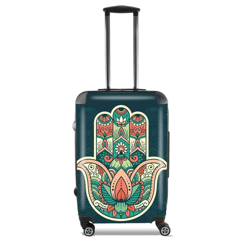 Hamsa Hand for Lightweight Hand Luggage Bag - Cabin Baggage